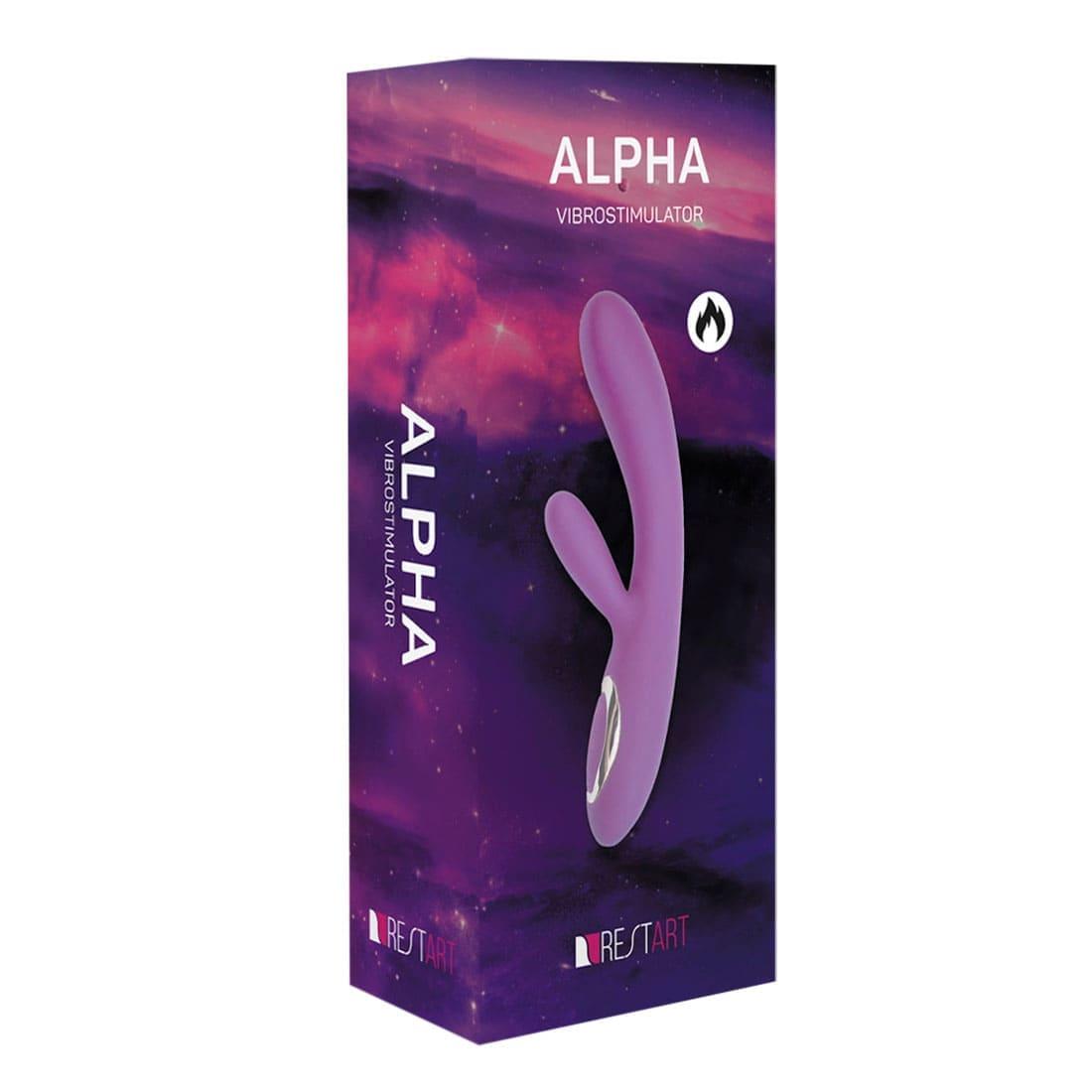 Alpha вибратор (вибростимулятор)