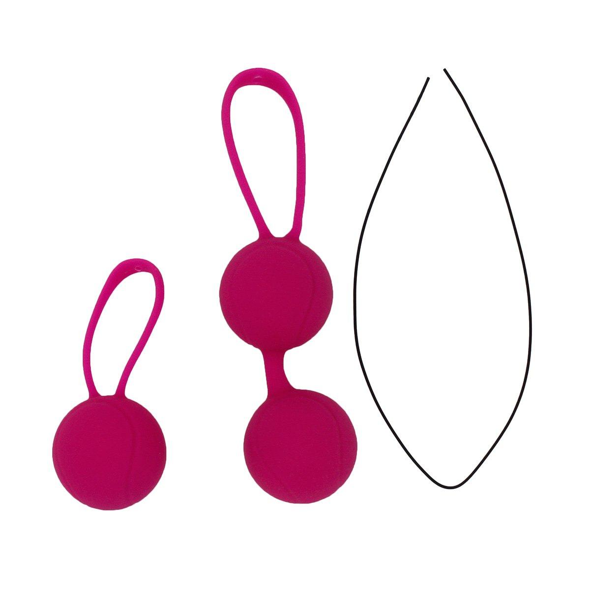 Kegel Balls тренажер (шарики) Кегеля розовый